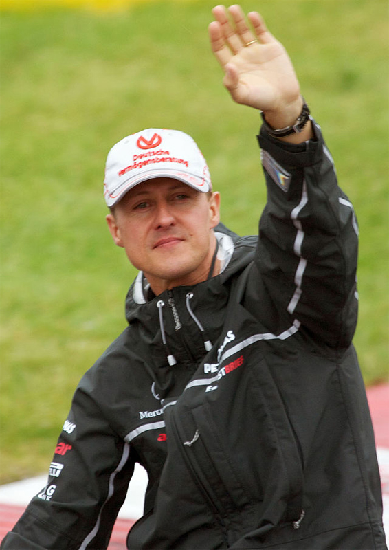 Michael Schumacher (Bild: Wikipedia Mark McArdle - Creative-Commons-Lizenz )